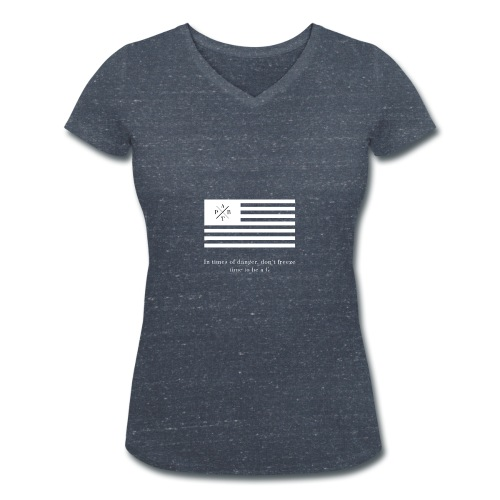 Transparent - Women's Organic V-Neck T-Shirt by Stanley & Stella