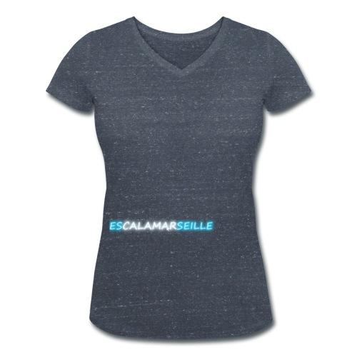 EscalaMarseille - T-shirt bio col V Stanley & Stella Femme