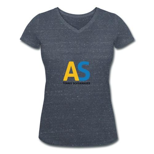 as logo - T-shirt ecologica da donna con scollo a V di Stanley & Stella
