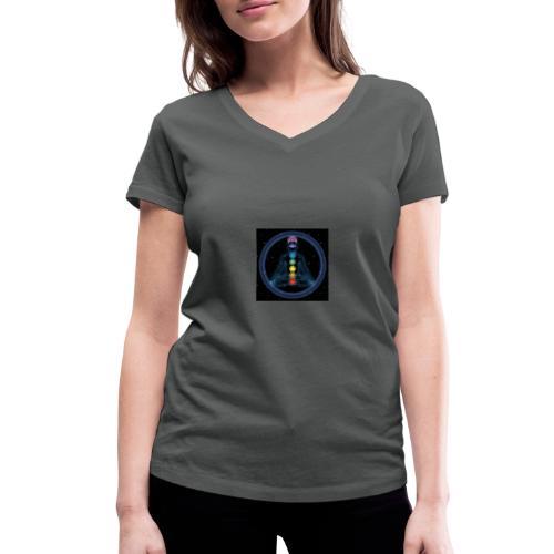 picture 11 - Frauen Bio-T-Shirt mit V-Ausschnitt von Stanley & Stella
