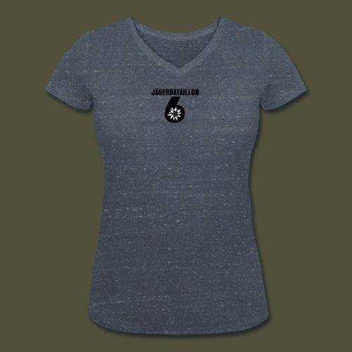 2F_GELB_JgB_unter_6 - Frauen Bio-T-Shirt mit V-Ausschnitt von Stanley & Stella
