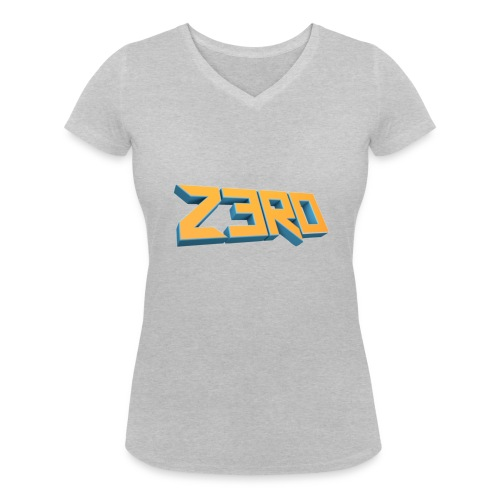 The Z3R0 Shirt - Women's Organic V-Neck T-Shirt by Stanley & Stella