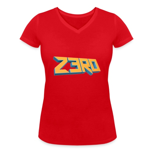 The Z3R0 Shirt - Women's Organic V-Neck T-Shirt by Stanley & Stella