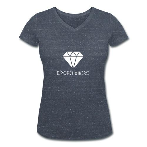 Dropchainers T-Shirt V-Ausschnitt - Frauen Bio-T-Shirt mit V-Ausschnitt von Stanley & Stella