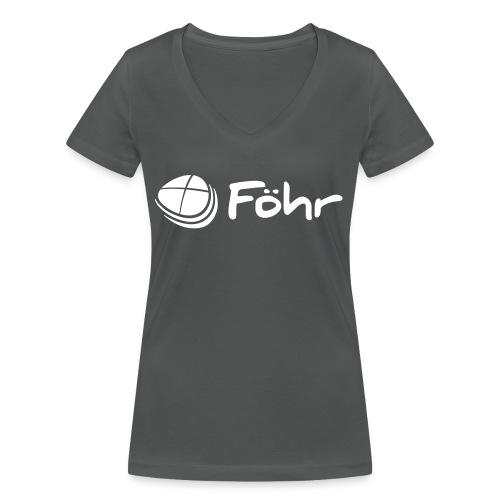 Föhr Logo - Frauen Bio-T-Shirt mit V-Ausschnitt von Stanley & Stella