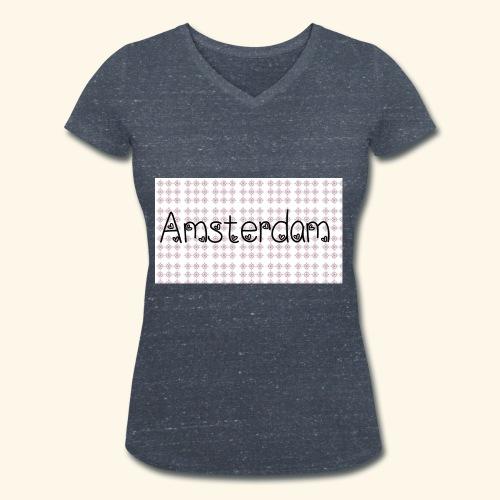 20190112 205227 - Vrouwen bio T-shirt met V-hals van Stanley & Stella