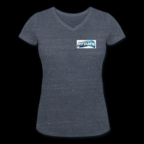 LOGO BL - T-shirt bio col V Stanley & Stella Femme