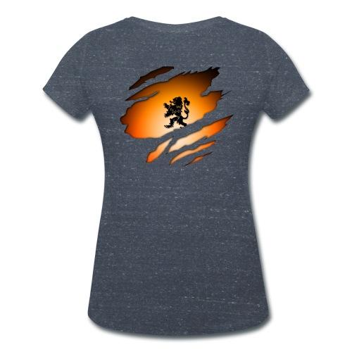 Dutch Inside: Leeuw - Vrouwen bio T-shirt met V-hals van Stanley & Stella