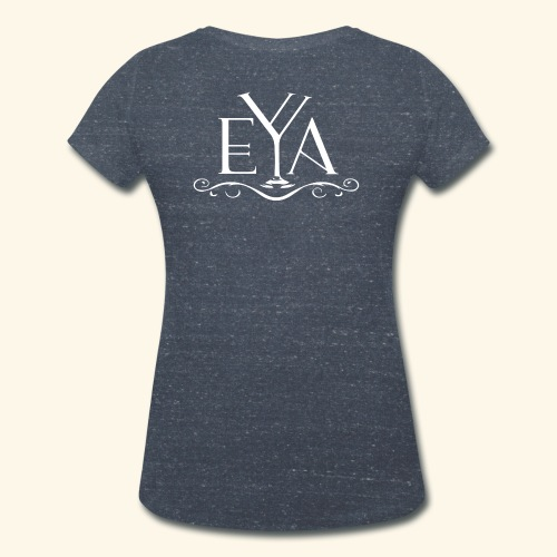 eva white png - T-shirt ecologica da donna con scollo a V di Stanley & Stella