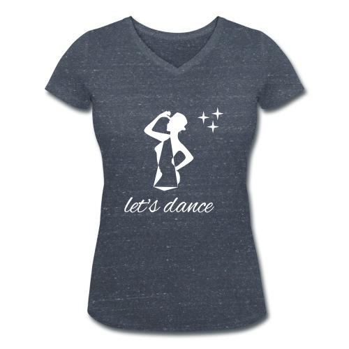 FRENCHIK_1513 - T-shirt bio col V Stanley & Stella Femme