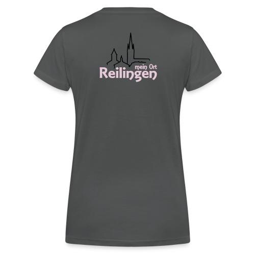 Mein Ort Reilingen - Frauen Bio-T-Shirt mit V-Ausschnitt von Stanley & Stella