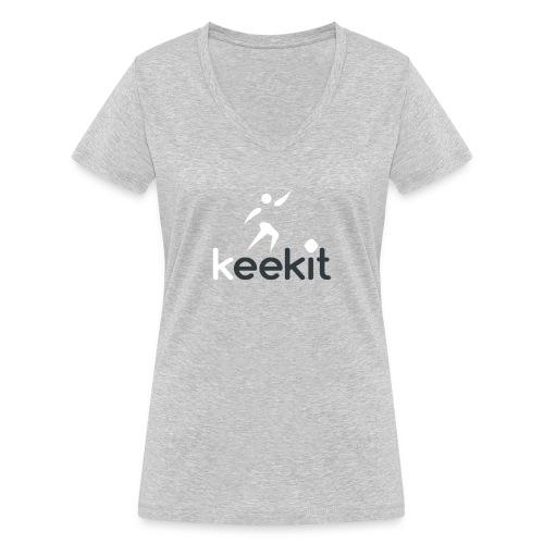 keekit - T-shirt bio col V Stanley & Stella Femme