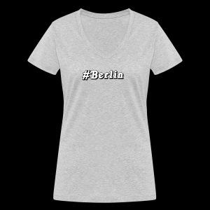 #Berlin - Frauen Bio-T-Shirt mit V-Ausschnitt von Stanley & Stella