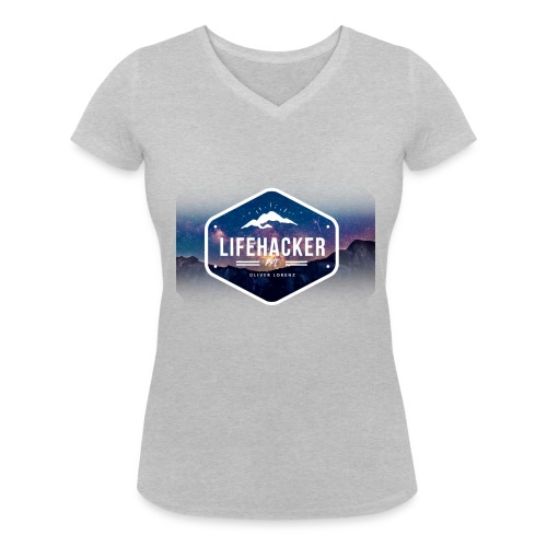 Lifehacker - Frauen Bio-T-Shirt mit V-Ausschnitt von Stanley & Stella