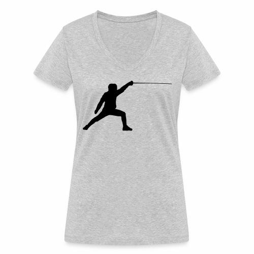 Fencer - Frauen Bio-T-Shirt mit V-Ausschnitt von Stanley & Stella