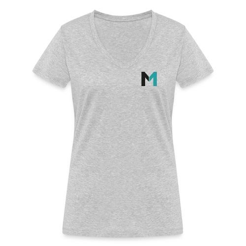 Logo M - Frauen Bio-T-Shirt mit V-Ausschnitt von Stanley & Stella