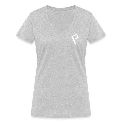 Basic Logo - Women's Organic V-Neck T-Shirt by Stanley & Stella