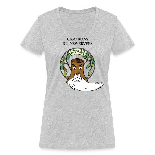 Stam shirts 20181803 - Vrouwen bio T-shirt met V-hals van Stanley & Stella