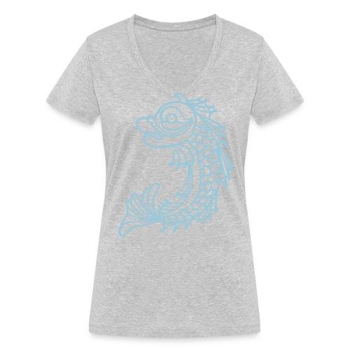 grenoble dauphin - T-shirt bio col V Stanley & Stella Femme