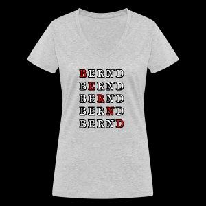Bernd - Frauen Bio-T-Shirt mit V-Ausschnitt von Stanley & Stella
