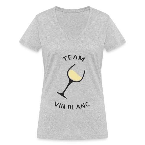 Team Vin Blanc - T-shirt bio col V Stanley & Stella Femme