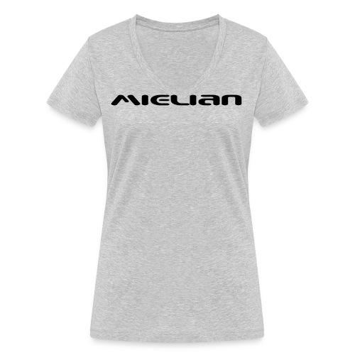 Mielian Logo - Women's Organic V-Neck T-Shirt by Stanley & Stella