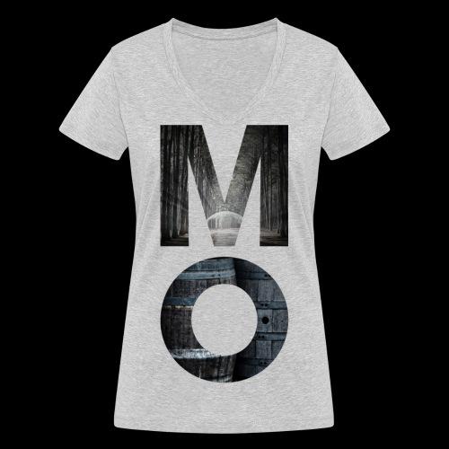 Moonshine Oversight - design épuré - T-shirt bio col V Stanley & Stella Femme