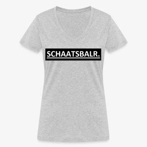 Schaatsbalr. - Vrouwen bio T-shirt met V-hals van Stanley & Stella
