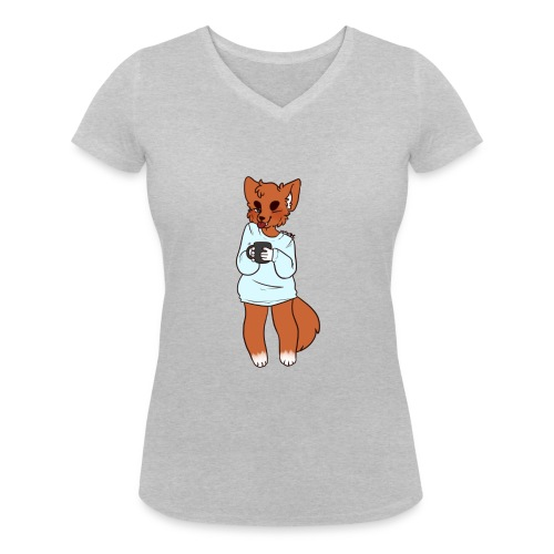 Remorgue's Avery - Women's Organic V-Neck T-Shirt by Stanley & Stella