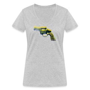 Revolver - Frauen Bio-T-Shirt mit V-Ausschnitt von Stanley & Stella