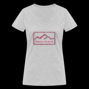 Mount Virginia woman - Frauen Bio-T-Shirt mit V-Ausschnitt von Stanley & Stella
