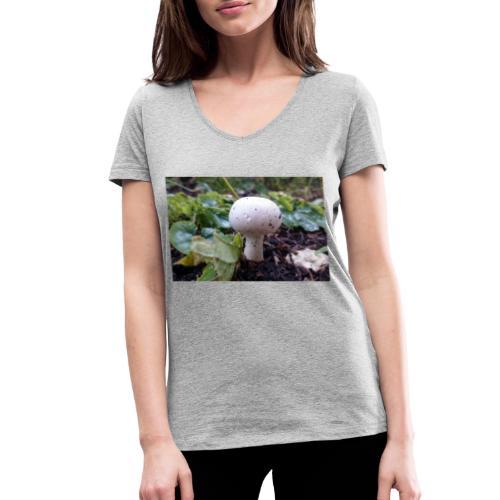 Pilz - Frauen Bio-T-Shirt mit V-Ausschnitt von Stanley & Stella