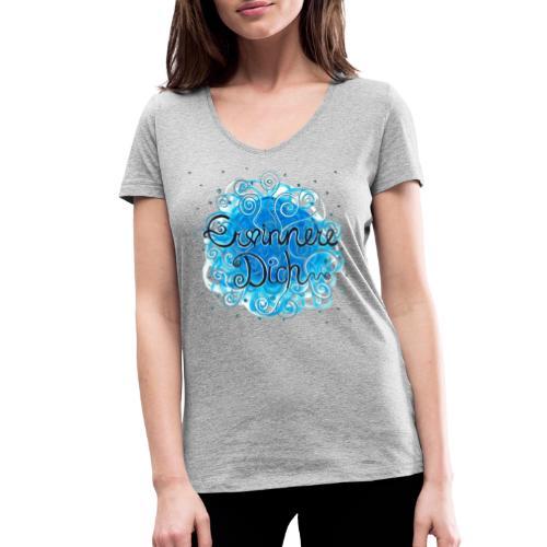 Erinnere dich - Frauen Bio-T-Shirt mit V-Ausschnitt von Stanley & Stella