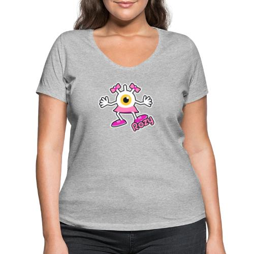Rozy Full (Color) - T-shirt bio col V Stanley & Stella Femme
