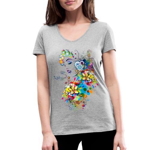 Lady singer - T-shirt bio col V Stanley & Stella Femme