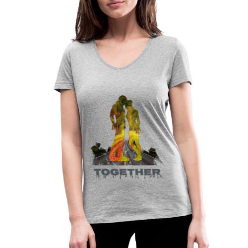 Together - T-shirt bio col V Stanley & Stella Femme