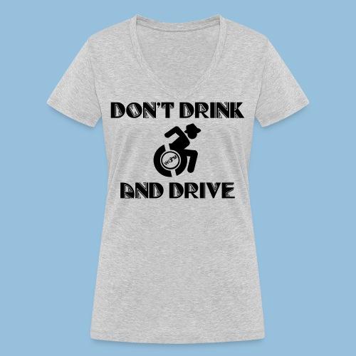 DrinkDrive3 - Vrouwen bio T-shirt met V-hals van Stanley & Stella