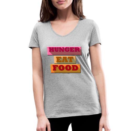 Hunger TShirt - T-shirt bio col V Stanley & Stella Femme