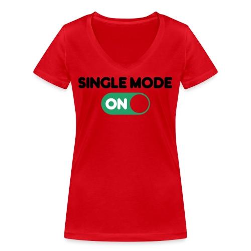 single mode ON - T-shirt ecologica da donna con scollo a V di Stanley & Stella