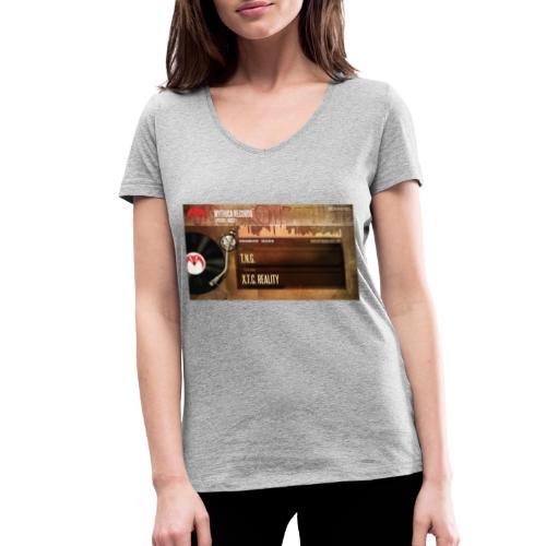 T.N.G. - X.T.C. Reality - Vrouwen bio T-shirt met V-hals van Stanley & Stella