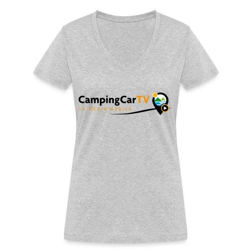 LOGO CCTV - T-shirt bio col V Stanley & Stella Femme