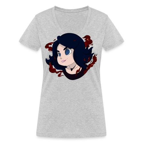 eluvyelprint png - Frauen Bio-T-Shirt mit V-Ausschnitt von Stanley & Stella