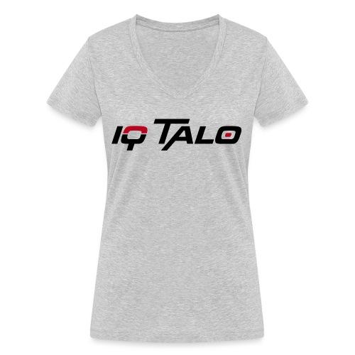 Logo_IQ_Talo_cmyk - Frauen Bio-T-Shirt mit V-Ausschnitt von Stanley & Stella