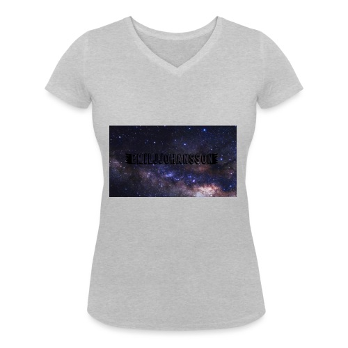 EMILJJOHANSSON - Ekologisk T-shirt med V-ringning dam från Stanley & Stella