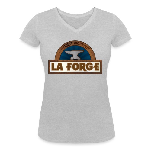 La Forge - T-shirt bio col V Stanley & Stella Femme