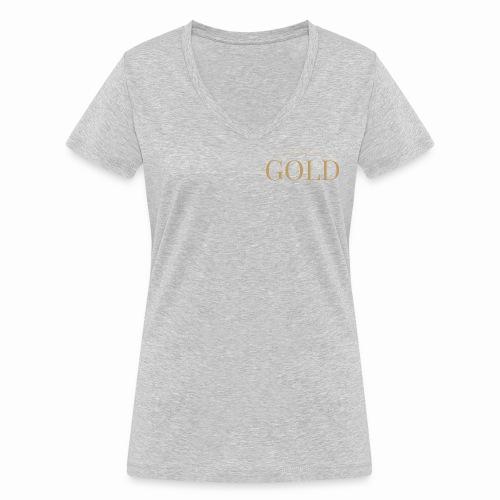 Schtephinie Evardson: Ultra Premium Gold Edition - Women's Organic V-Neck T-Shirt by Stanley & Stella