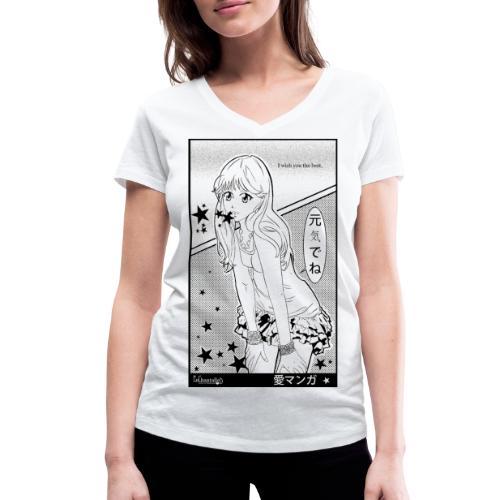 I wish you the best - Women's Organic V-Neck T-Shirt by Stanley & Stella