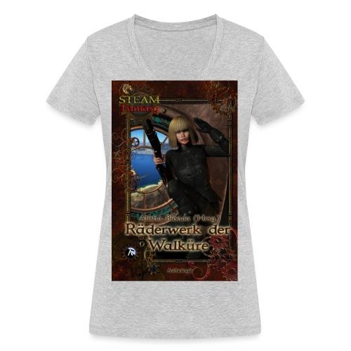 coversteamfantasy1 - Frauen Bio-T-Shirt mit V-Ausschnitt von Stanley & Stella