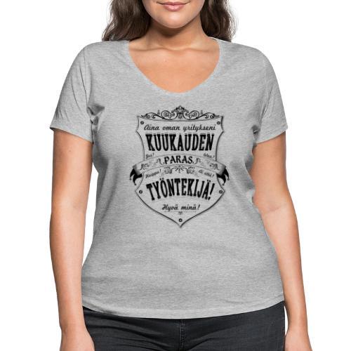 Hyvä Minä I - Stanley & Stellan naisten v-aukkoinen luomu-T-paita
