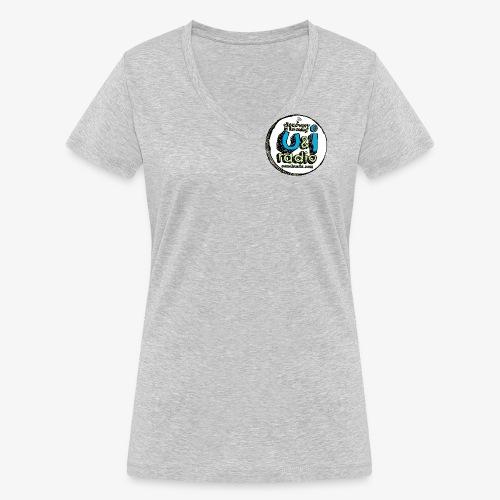 U & I Logo - Women's Organic V-Neck T-Shirt by Stanley & Stella